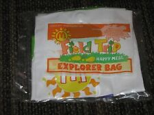 1993 McDonalds Happy Meal Toy Field Trip Explorer Bag