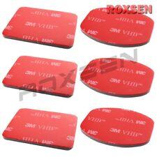 6 pcs 3M VHB Adhesive Sticker Red Set for GoPro Helmet Mount Camera Hero 3 3+ 4