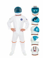 ADULT ASTRONAUT SPACE NASA SHUTTLE PILOT LAB APOLLO COSTUME HELMET GRAVITY MOON