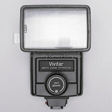 Vivitar 285HV Flash - MANUAL/AUTO THYRISTOR - POWERFUL - 100% SOUND & GUARANTEED