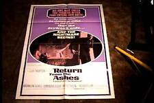 RETURN FROM THE ASHES  ORIG MOVIE POSTER 1965 HORROR EXPLOITATION HERBERT LOM