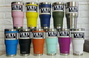 Brand New YETI Rambler 30 Oz Tumbler With Magnetic Slider Lid Multi Colour