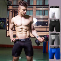 Men/'s Compression Shorts Fitness Workout With Pocket Sports Sweatshorts