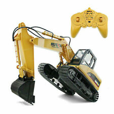 RC Truck Excavator 15CH Construction Digger Wireless Bulldozer+Remote Control
