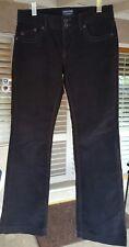 Ralph Lauren POLO JEANS CO Women's sz 6X32 Black Corduroy Stretchy Jeans