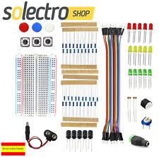 Kit Componentes electrónicosArduino UNO R3 Mega Breadboard LED Jumper Wire B039