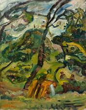 Soutine Chaim Noon Landscape Canvas 16 x 20   #7251