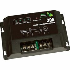 Strongway Digital Solar Charge Controller - 450 Watt/30 Amp Capacity