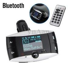 "1.5"" Car Kit Bluetooth MP3 Player FM Transmitter Modulator LCD SD MMC USB Remote"
