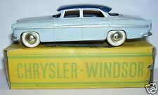 ORIGINAL OLD CIJ CHRYSLER WINDSOR SEDAN  1955 REF 3-15 1/43 MADE FRANCE 1956 BOX