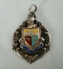 Silver Watch Fob Ulverston 1990
