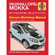 Vauxhall Mokka Haynes Manual 2012-Sep 2016 Petrol Diesel Workshop Manual