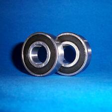 2 rodamientos de bolas SS 6001 2rs/12 x 28 x 8 mm/acero inoxidable inoxidable