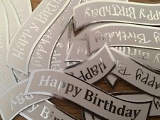 Happy Birthday  X24 Banners embellishment/toppers/card Making /clearout
