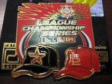 2004 NLCS Astros vs Cardinals Dueling Pin