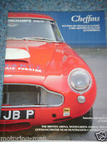 CHEFFINS AUCTION CATALOGUE APRIL 2004 CAMBRIDGESHIRE ASTON MARTIN DB4 CONNAUGHT