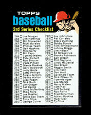 1971 Topps 206 3rd Series Checklist from vending.  NMMT.  (TX5661LXM).