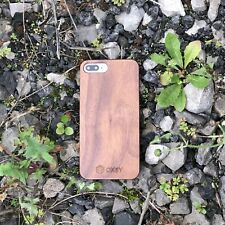 OXSY Genuine Walnut Wood iPhone 6/6S Slim Case Cover