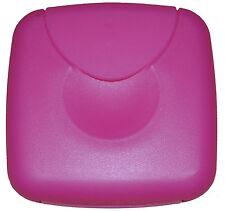 Tampon Box / Dose für Tampons / Binden /Slipeinlagen o.b. Tamponspender Pink NEU