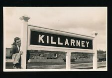 Ireland Co Kerry KILLARNEY Railway Station c1940/50s? RP PPC