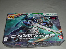 NEW GN-0000 + GNA-010 RAISER SWORD III GUNDAM FIGURE MODEL KIT HG BANDAI 00-54 >