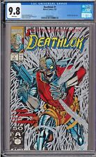 Deathlok #1 CGC 9.8 White Pages Metallic Silver Ink Cover 1991