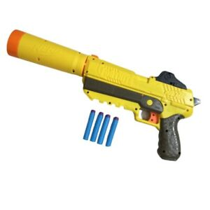 Nerf Fortnite Blaster Yellow SP-L Toy Gun SPL Very Clean With Accessories