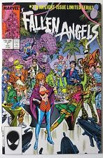 Fallen Angels #7 (Oct 1987, Marvel) Limited Series (C3847)