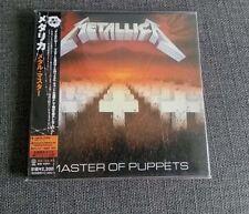 Metallica Master of Puppets JAPAN MINI LP CD SEALED