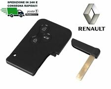 KEY CASE SHELL REMOTE CONTROL KEY CARD 3 BUTTONS RENAULT SCENIC 2
