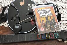 Guitar Hero 3 PS3 Bundle Les Paul Controller+ Dongle + Strap + Game Complete Set