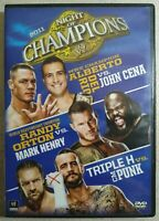Night Of Champions 2011 - Wrestling DVD - WWE Home Video - Del Rio/Cena