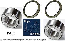 1996-2002 Toyota 4Runner 2WD Front Wheel Hub (OEM) KOYO Bearing & Seals (PAIR)