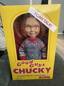 Mezco Child's Play 15Inch Good Guy Talking Chucky Figure with Sound