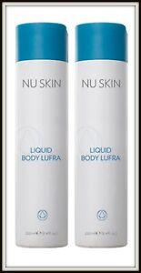 NEW! 2 x Nu Skin NuSkin Liquid Body Lufra 250ml (100% Soap Free)