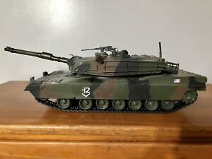 Unimax Forces Of Valor Camo Abrams M1A1 Tank 1/18 Scale Complete w/ Upgraded MG