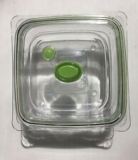 FoodSaver FAC3-000 Vacuum Sealed Fresh Container, 3 Cup, Clear