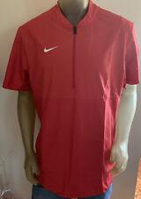 Men'S Nike Fa190106Hit Ao5859-657 Lightweight Red Training Shirt Size L