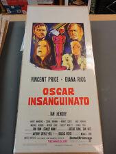 """ Theatre of Blood "" / Original Italian Locandina Movie Poster"