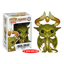 "FUNKO POP MAGIC THE GATHERING NICOL BOLAS #12 SUPER SIZED 6"" Vinyl Fig IN STOCK"