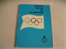 GIOCHI DELLA XX OLIMPIADE agendina del 1972