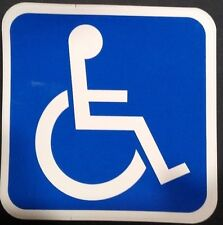 Vinyl Wheel Chair access Decal pack of 10