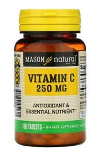 Mason Natural Vitamin C 250mg 100 Tablets