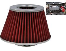 Red Grey Induction Kit Cone Air Filter Vauxhall Frontera 1998-2004