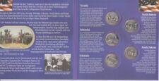 USA  State Quarter Set  2006 - 5 Münzen  im Folder