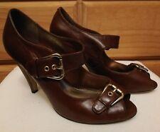 Siren Leather Heels Size 6.5