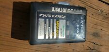 Sony Walkman Wm-Af61 Stereo Cassette Player & Radio  For Parts