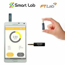 SMART LAB Radioaktivität StrahlenMessgerät detektor GeigerZähler für Smartphone