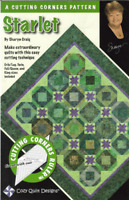 Starlet Quilt pattern - cozy quilt designs - a cutting corners pattern