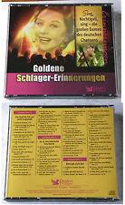 GOLDENE SCHLAGER-ERINNERUNGEN Damen des deutschen Chansons. Readers 3-CD-Box TOP